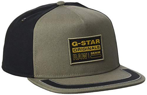 G-STAR RAW Mens Estan Cap, Shamrock C693-2199, One Size fits All