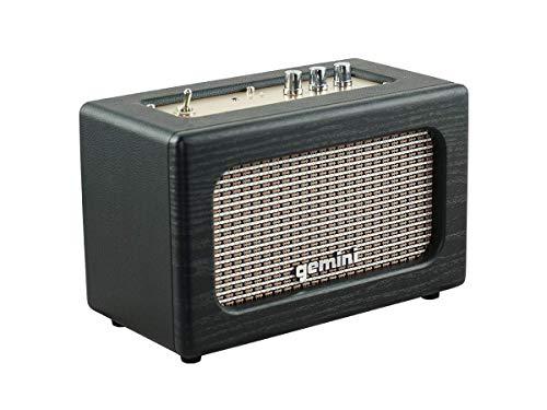 Gemini Sound GTR-100 Retro Bluetooth Portable Speaker, 30W Vintage Stereo , 5.0 Wireless Audio...