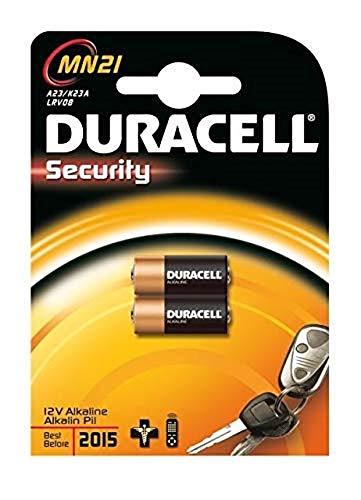 Duracell MN21-X2 pile non-rechargeable - piles non-rechargeables (Cylindrique, A23, Alcaline)