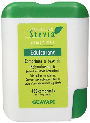 Guayapi - Denrée Alimentaire - Stevia Reba98 400 Comprimés