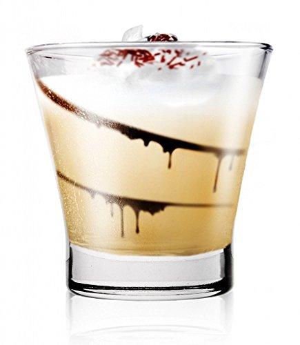 Sables & Reflets Dessertschalen, Verrine-Gläser, 200 ml, für Vorspeisen oder Desserts, 6 Stück