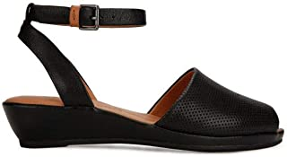 Women's Lily Ankle Wrap 2 Low Wedge Sandal