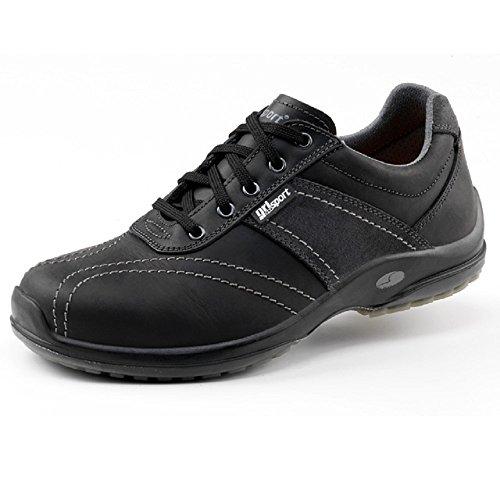 Grisport GRS924-40 Trend veiligheidsschoenen, afmeting: 40, zwart (Pak van 2) - EN veiligheidscertificaat