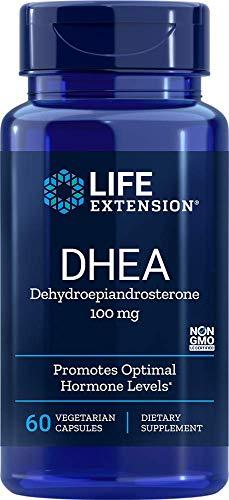 Life Extension DHEA 100 Mg, 60 Vegetarian Capsules
