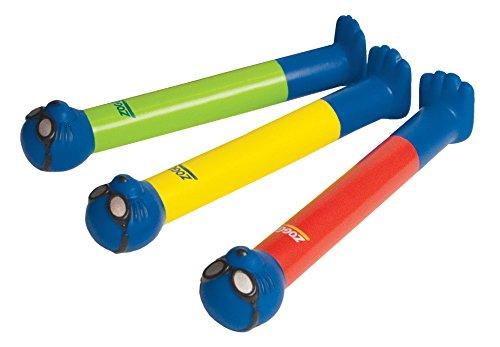 Zoggs Kinder Dive Sticks (3 Stück), Mehrfarbig, M