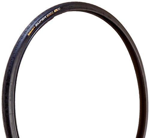 Continental Supersport Plus Fold Bike Tire, 100347, Schwarz, 27-Inch x 1.125