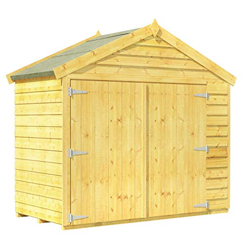 BillyOh Mini Keeper 3x6 Overlap Wooden Bike Store Garden Storage Shed
