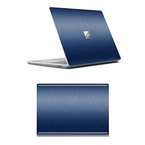MasiBloom Laptop Decal Sticker Protector Skin for 12.4 inch Microsoft Surface Laptop Go Vinyl Anti-Scratch Protective Skin (for 12.4' Surface Laptop Go AD Side, Blue)