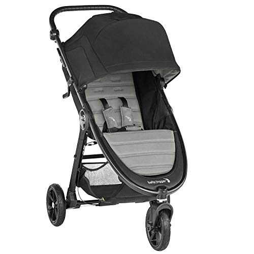 Baby Jogger City Mini GT2 All-Terrain Pushchair | Lightweight, Foldable Stroller | Slate (Grey)