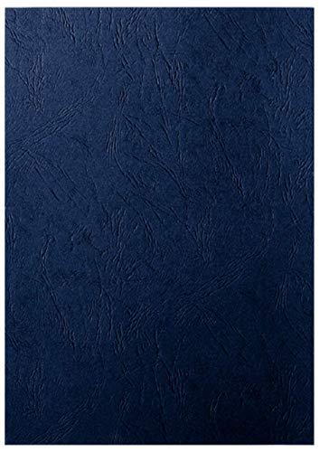 LEITZ 33666 - Tapas encuadernación cartón 240 gr. Textura tipo piel (Pack 100 ud.) color negro
