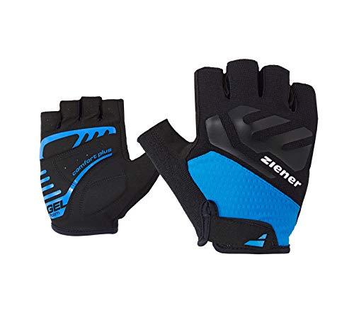Ziener Herren CAECILIUS Fahrrad-, Mountainbike-, Radsport-Handschuhe   Kurzfinger - atmungsaktiv/dämpfend/rutschfest, persian blue, 9