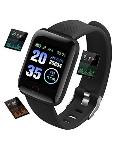 pequeño y compacto Reloj inteligente WULIZZYB, reloj inteligente de fitness para hombres y mujeres, reloj rastreador …