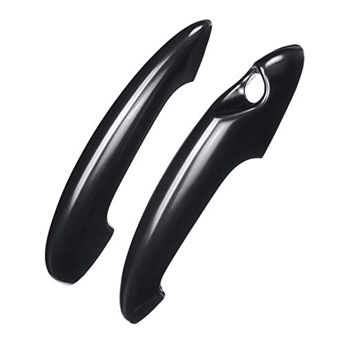MENGHE TANGZHOU Gloss Black Fibra de Carbono Cubierta de Mango de Puerta Ajuste para BMW Mini Cooper S R50 R52 R53 R55 R56 R57 R58 R59 R61 Cubiertas de Mango de Coche (Color : Black)
