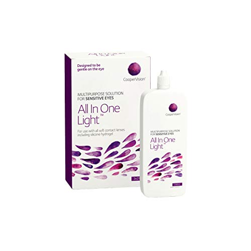 All In One Light Multipurpose Solution (3 month pack) 3 x 250 ml by Sports Vision World