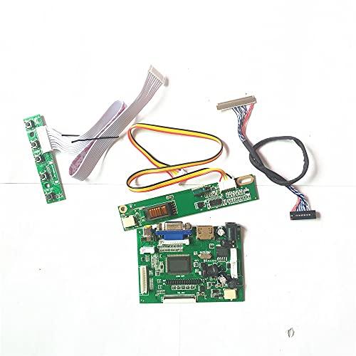 LP154W01 (TL)(E1)/(TL)(E3)/(TL)(E4)/(TL)(E5)/(TL)(EA) LVDS LCD 1280 * 800 30Pin VGA HDMI-Compatible AV 1CCFL placa controladora (LP154W01 (TL)(E3))