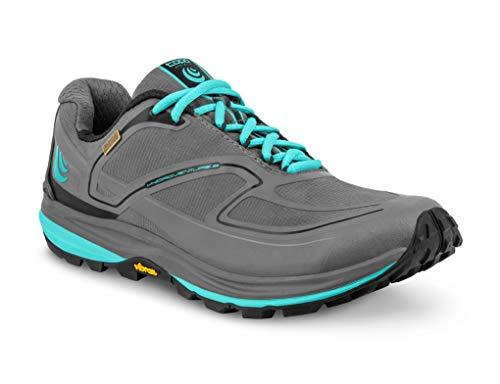 Topo Athletic Hydroventure 2 Chaussures de Course pour Femme, Femme, Charcoal/Sky, 7.5 B (M) US