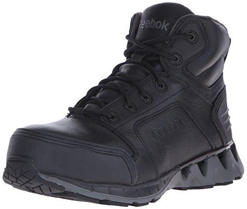 Reebok Work Men's Zigkick RB7000 Work Shoe, Black, 8 M US
