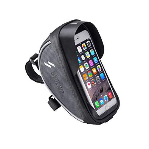 Blingko Sports Fahrradtasche für Smartphone, Rahmentasche Fahrrad Wasserdichte Tasche für Handys...