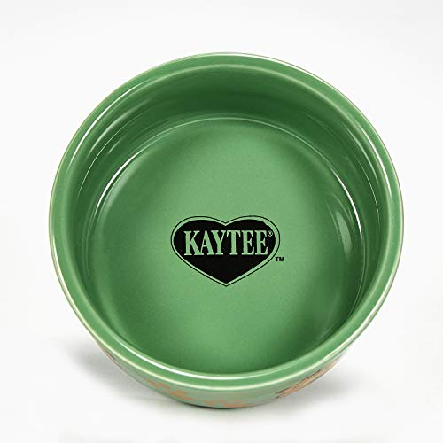Kaytee Paw-Print PetWare Bowl, Guinea Pig, Assorted Colors
