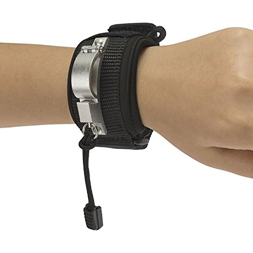 Liberty Wristband (Black) Innovative Wristband for Dog Walking Attaches to Any Dog Leash Converting It Into A Hands Free Leash with Safety, Comfort and Control