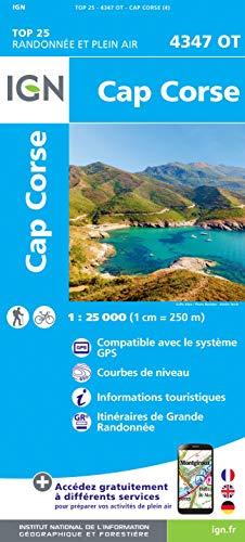 Cap Corse 1 : 25 000