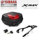 Pack baul Top Case City de 50l Completo XMAX18CASE50 Original Yamaha X-MAX 125 Desde 2018-