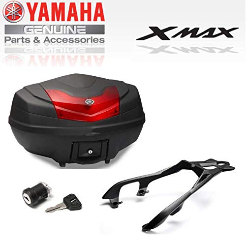 Pack baul Top Case City de 50l Completo XMAX18CASE50 Original Yamaha X-MAX 300 Desde 2017-