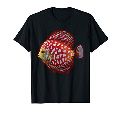 Diskus Shirt - Aquarium Diskusfisch Aquarianer Buntbarsch