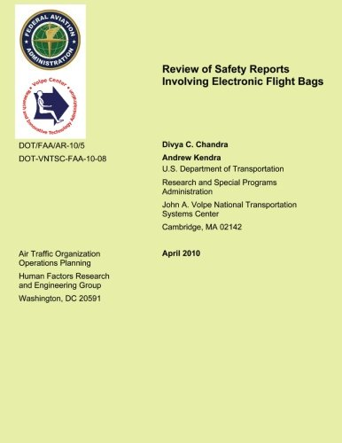 Review of Safety Reports Involving Electronic Flight Bags
