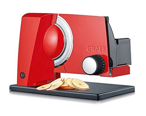 Graef S11003 Allesschneider, Metall, Rot