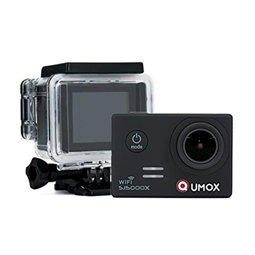 QUMOX SJ5000X Elite 2K 30fps 720p 120fps 4K NTK96660 Exmor IMX078cqk sensor Gyro cámara de la acción WiFi HD Deportes...