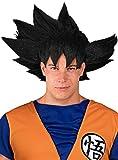 Funidelia   Peluca de Goku - Dragon Ball Oficial para Hombre ▶ Son Goku, Bola de Dragón, Anime, Saiyan - Negro, Accesorio para Disfraz