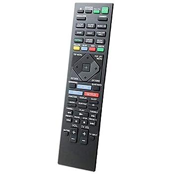 Rnnokate New RM-ADP117 Remote Control fit for Sony Home Theater Player BDV-N5200W BDV-N7200W BDV-N7200WL BDV-N9200W BDV-N9200WL BDV-NF7220 HBD-N5200W HBD-N7200W HBD-N9200W HBD-N9200WL