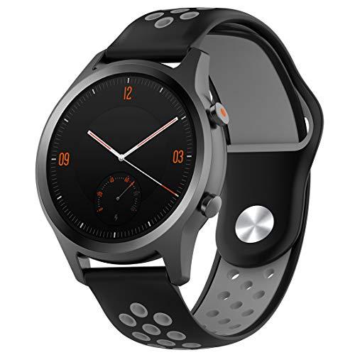 LOKEKE Correa de Repuesto de Silicona para Reloj Mobvoi TicWatch ...