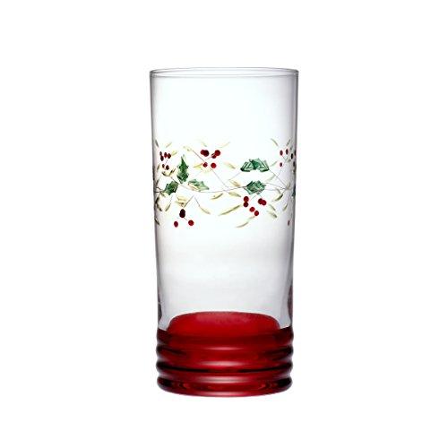 Pfaltzgraff Winterberry Cooler Glasses (20-Ounce, Set of 4)