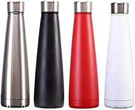 SG STOCK Flute Water Bottle Stainless Steel Vacuum Flask 500 ML Eco Friendly BPA Free Thermos Thumbler