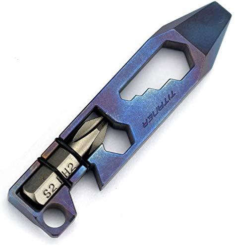 Titaner Titan-Multifunktionswerkzeug, Hebelstange, Flaschenöffner, Schraubenschlüssel, Werkzeug, EDC Gear