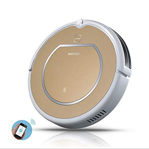 Find Discount MAKE FINE Vacuum Robot 2 in 1 Vacuum Cleaner with Wiping Function Remote Control for A...