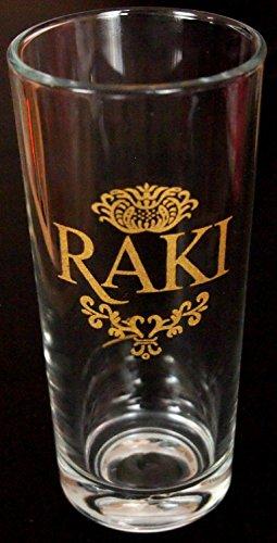 Pasabahce 6x RAKI Cristal–RAKI vasos (por 200cc)