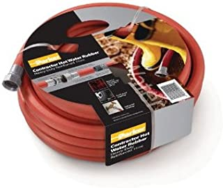 Parker Hannifin HWR3450 Rubber Cover HWR Premium Hot Water Hose Assembly, Red, 50' Length, 0.75