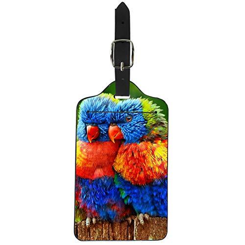 Showudesigns Etichetta per valigie Parrot Taglia unica