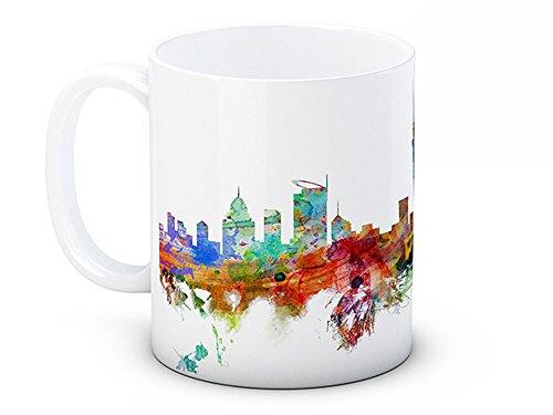 Auckland Skyline, Neuseeland - Hochwertigen Kaffee oder Tee tasse