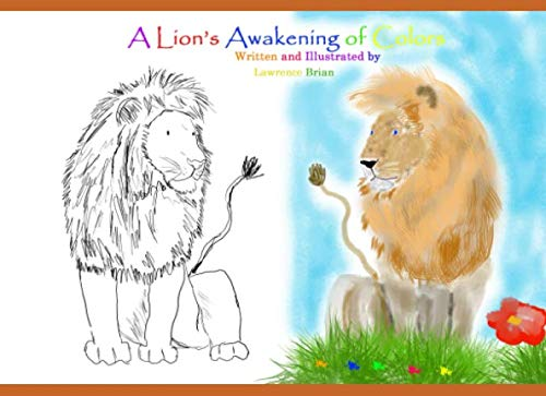 A Lion's Awakening of Colors