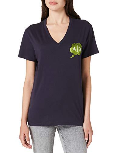 Armani Exchange Shirt, Blueberry Jelly, M Femme