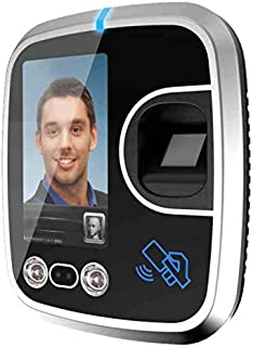 REALTIME Power of Biometrics Face with Finger Attendance Recorder (Black)