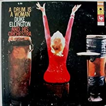 Duke Ellington - A Drum Is A Woman (red 6 eye label) Featuring: Margaret Tynes, Joya Sherrill and Ozzie Bailey and chorus