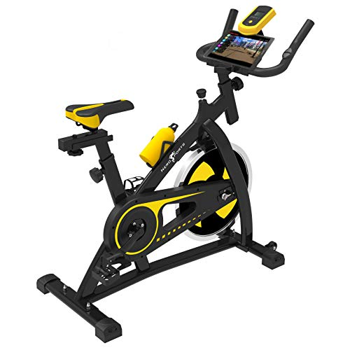 Nero Sports Upright Exercise Bike Indoor Studio Cycles Aerobic Training Fitness Cardio Bike