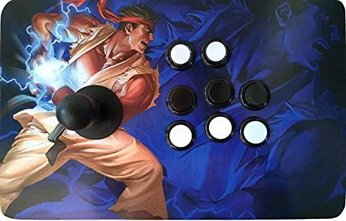 Joystick Manete Fliperama Arcade USB 1 jogador para PC PS3 TVBox Raspberry Pi Windows Mac Linux