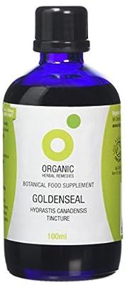 Organic Herbal Remedies 100 ml Goldenseal Tincture
