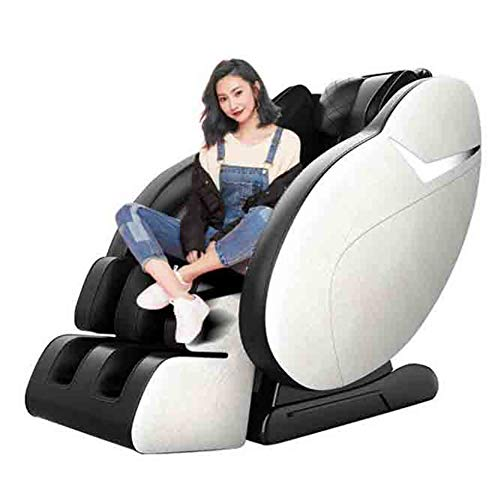 CSPFAIZA Intelligent Massagesessel Elektrisches Sofa mit Wärmefunktion und Bluetooth-Lautsprecher, 12 Massagetechniken, 46 Airbags